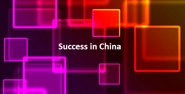 success in China