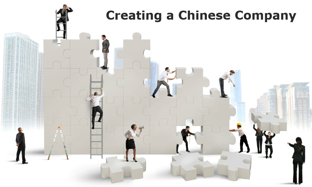 Creating a chinese company