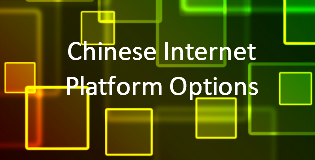 Chinese internet publishing options